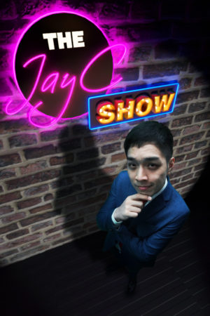 Get your weekend sorted with The JayC Show! Featuring locally assembled comedy sketches, musical performances and dance performances, join JayC Ho as he navigates the daily news, makes spontaneous dialogues with audience in the studio and conducts 'off the top of his head' style interviews with invited guests ranging from celebrities to skaters.